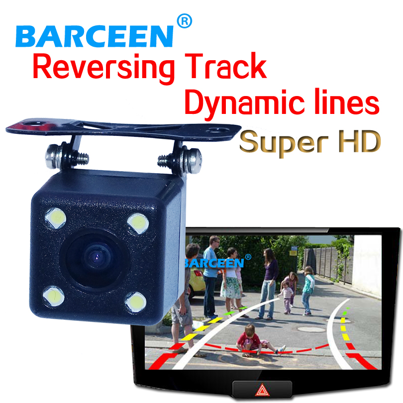 buy universal car rear view camera bring dynamic track line color hd ccd lens. Black Bedroom Furniture Sets. Home Design Ideas