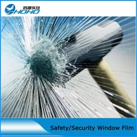 50x150cm Safety Film 4mil Thickness Transparent Security Glass Protective Tint Film For Window Bathroom Glass Shatter