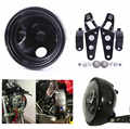 7 inch  car accessories 883 Led Headlight with angle eye for Harley Motorcycles 7inch housing bucket trim ring