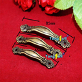 Fast Shipping 50pcs European Style Antique Bronze Mini Cabinet Handle Drawer Pull Jewelry Box Handle