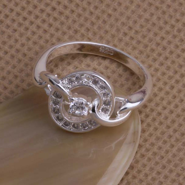 925 Sterling Silver Ring Fashion Jewerly Ring Women&Men terrific retaining ring /dsbamjia fhxanzea AR040