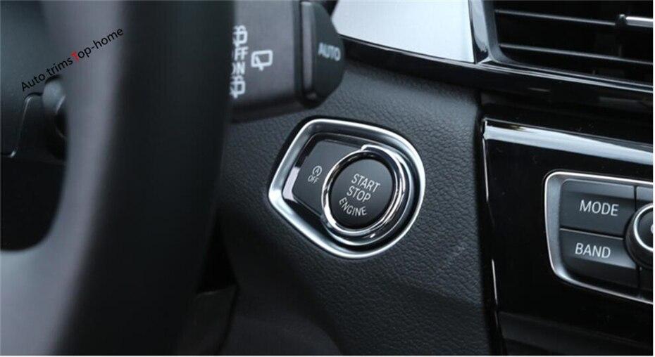 Yimaautotrims Başlat Durdur Motor Sistemi Anahtar Kalıp Çerçeve - Araç Içi Aksesuarları - Fotoğraf 6