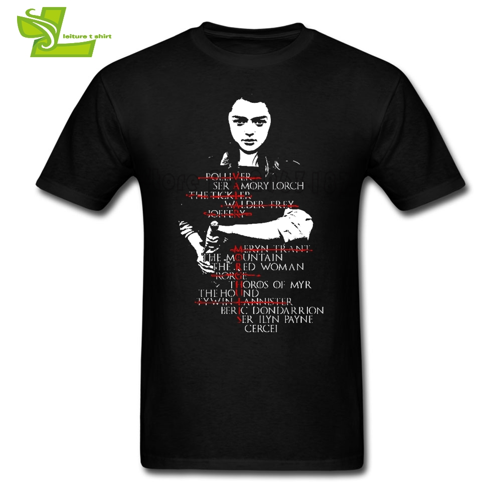 Game Of Thrones   T     Shirt   Men's Summer 100% Cotton Team Tees Male Newest Plus Size Top Popular Normal Teenboys Tee   Shirts