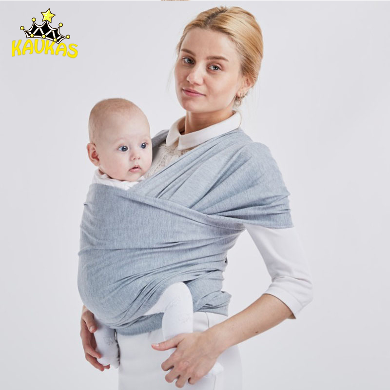 OLN Baby Carrier Sling For Newborns Soft Infant Wrap Breathable Wrap Hip Seat Breastfeed Birth Comfortable Solid Nursing Cover