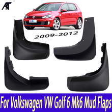 Mud Guards Splash Guards Mud Flaps fit for VW Volkswagen Golf MK6 2009 2012 OEM LFL