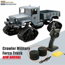 Remote Control Truck 4 Wheel Drive Off-Road RC 1/16 Military Replaceable Wheel Climbing RTR  Learning Toys for Children