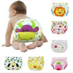 1 шт. Многоразовые детские подгузники для младенцев, тканевые подгузники, мягкие чехлы, моющиеся, три размера, регулируемые подгузники, зимн...