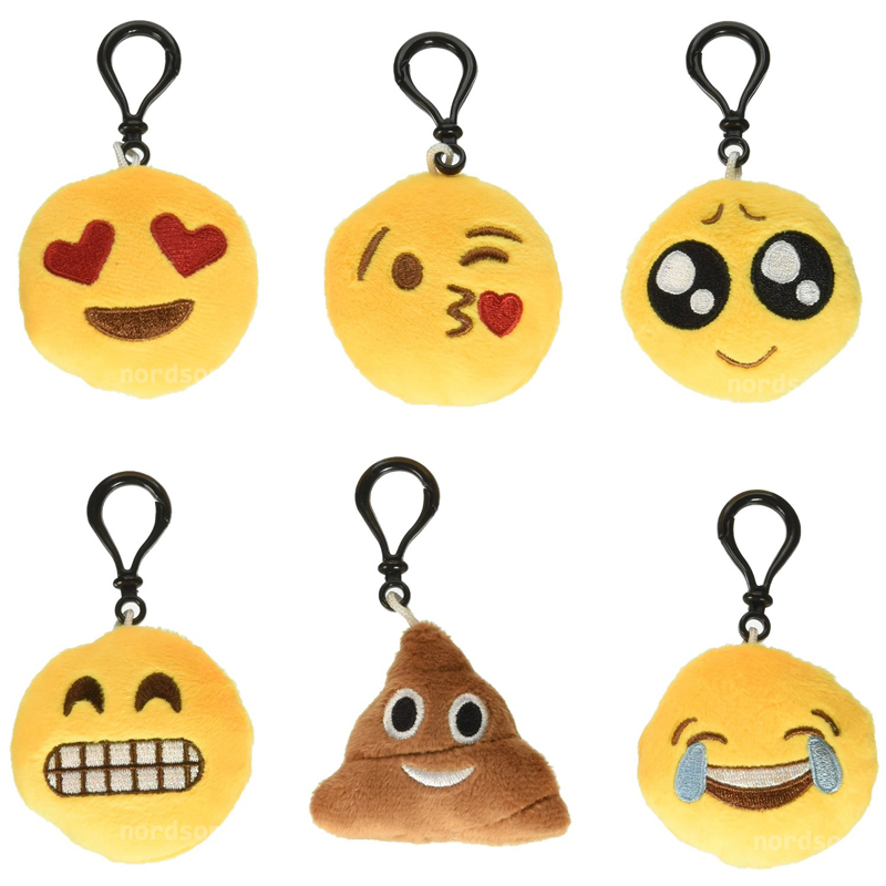 Buy 6 Pcs Emoji Key Chains Motorcycle Bicycle Car