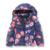 Crianças meninas casaco de inverno com capuz casuais casaco quente algodão impresso grossas crianças quentes marca jaqueta parka meninas outerwear 2-7 anos
