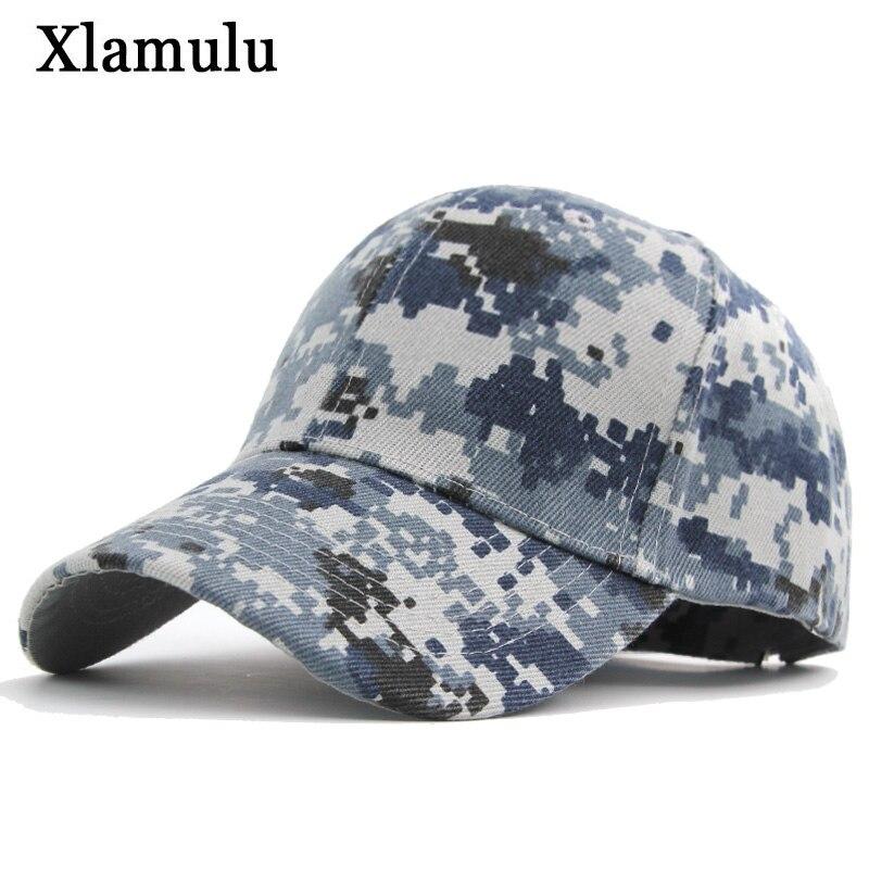 Xlamulu Men Baseball Caps Hats For Women Camouflage Band Men Snapback Caps Casquette Army Green Bone Hat Gorras Men Casual Hat