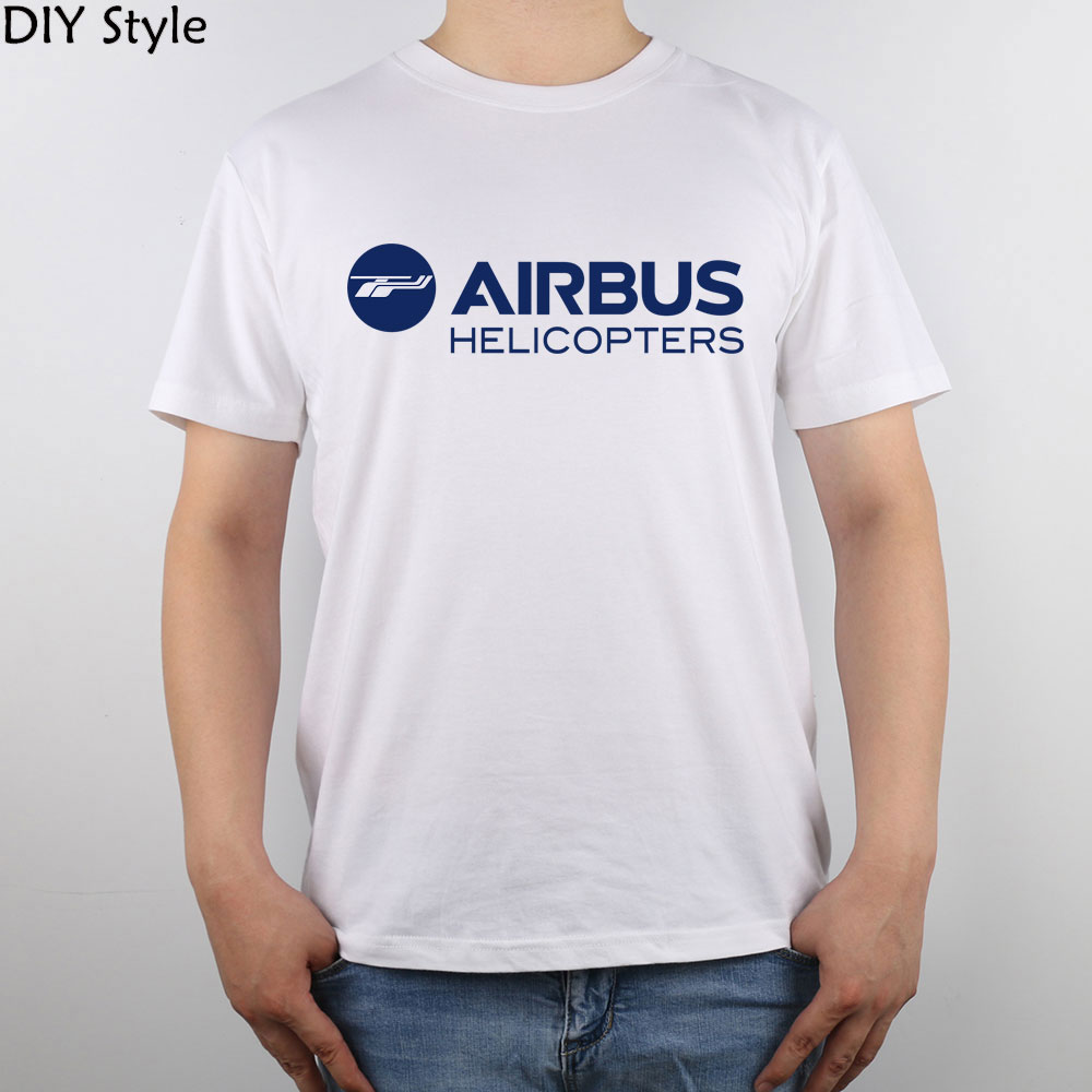 Shirt design of 2014 - Airbus Helicopters Logo 2014 T Shirt Top Pure Cotton Men T Shirt New Design High