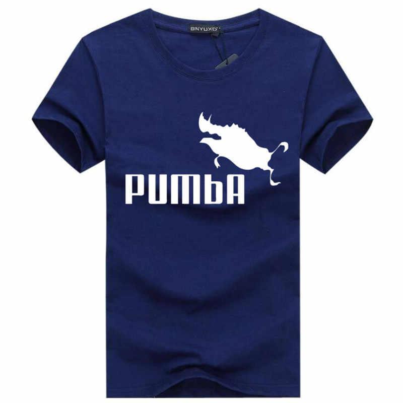 BINYU 2018 lustige t nette t shirts homme Pumba männer kurzen ärmeln baumwolle tops kühlen t shirt sommer jersey kostüm mode t-shirt