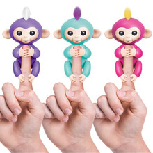 Interactive Fingerlings finger Baby mini monkey Colorful Smart Fingers Smart Induction Finger Monkey Pet Toys For Children Gift