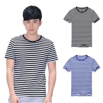 Stripe T Shirt 2020 Men Casual T-Shirt Short Sleeve Summer Hip Hop Tshirt Streetwear Casual Tops Tee