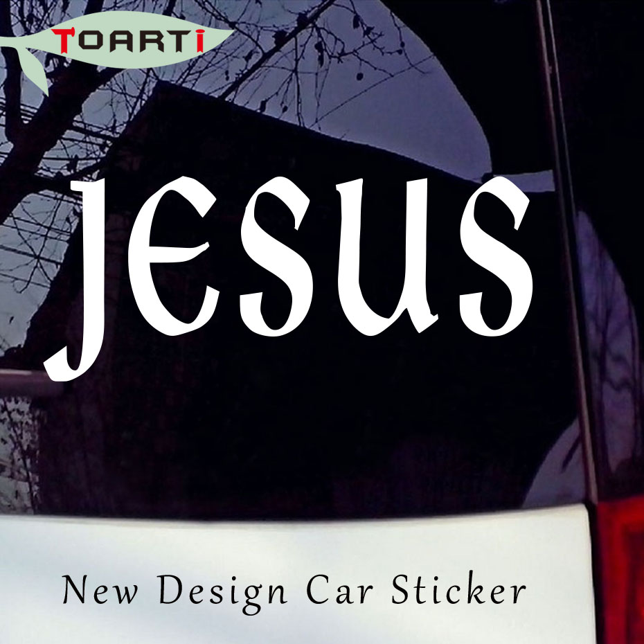 etiquetas engomadas del coche pequeo regalo barato iglesia de jess religiosa dios cristiano religioso fe adhesivo