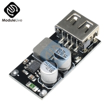 10 шт. QC3.0 QC2.0 USB DC-DC понижающий преобразователь модуль зарядки 6-32 в 9 в 12 В 24 в для быстрого зарядного устройства 3 в 5 в 12 В понижающий
