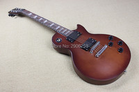 Custom Shop LP Studio Electric Guitar Real Guitar Pictures High Quality Matte Color Black Hardware Free