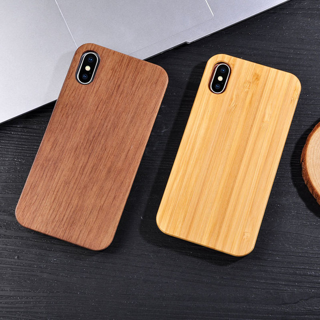 Solid Wood Case for iPhone 3