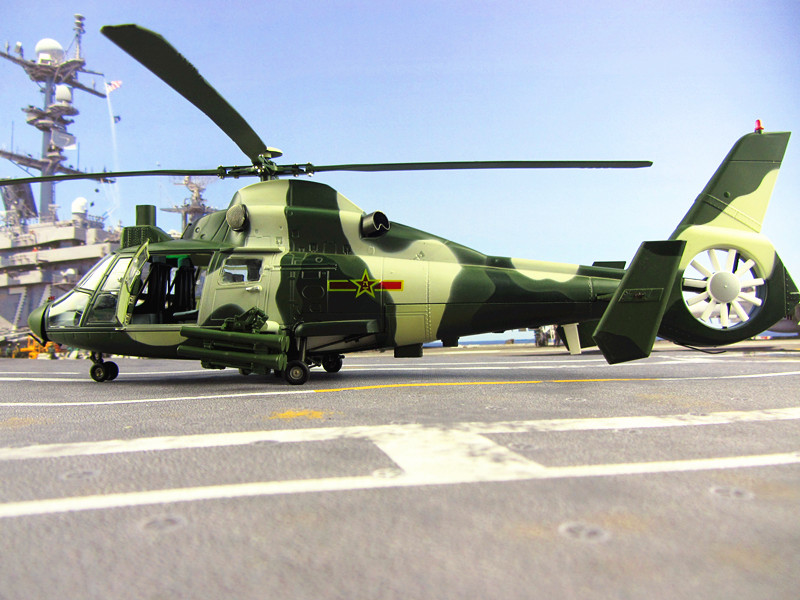 Z-9 helicopter model with Z9 aircraft model helicopter model 1:30 Chinese Army China Airforce CPLA