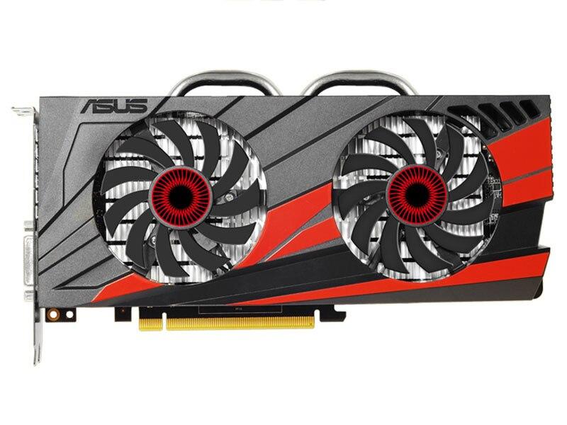 Б/у, ASUS GTX 1060 GPU, 3 Гб оперативной памяти, 192bit 1594 МГц GDDR5 карта для игр