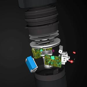 Image 3 - Youpin Yimu שחור אינטליגנטי ניטור ברז מים מטהר מסנן מטבח אמבטיה מסנני בית מטבח