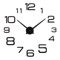 Новая распродажа diy Зеркальная Наклейка для настенных часов акриловый кварцевый материал украшение дома в европейском стиле мебель для гос...