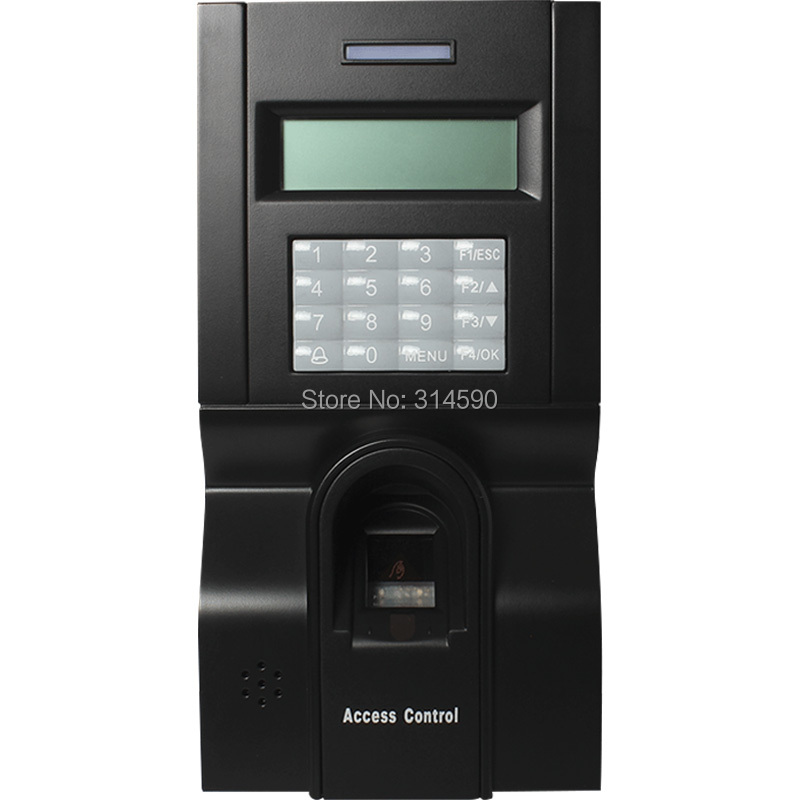 ZK F8 Password & Fingerprint Time Attendace And Access Controller Terminal With TCP/IP Free Software zk f7 tcp ip or rs232 and rs485 biometric finger print door access controller zk teco f7 high speed time recorder with software
