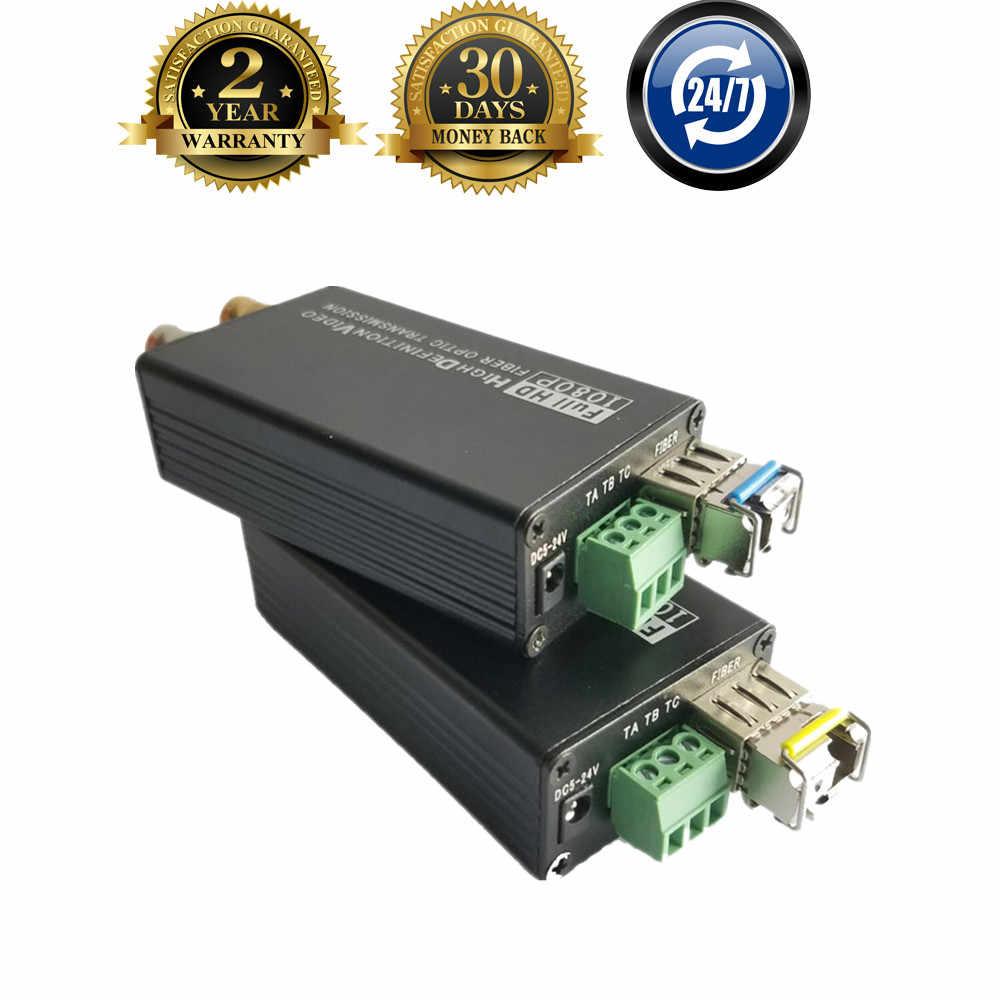 ProAV SDI ファイバー光送信受信機スイッチ数量信号 1080 1080P HD-SDI フィブラ光 Bnc 同軸コンバータ 20 キロ