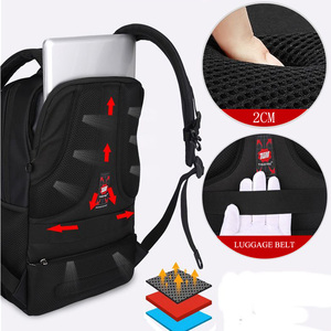 Image 5 - Tigernu Water Repellent Nylon Men Anti theft 15.6inch Laptop Backpacks Business USB Charger Computer Schoolbag Backpack for Boys