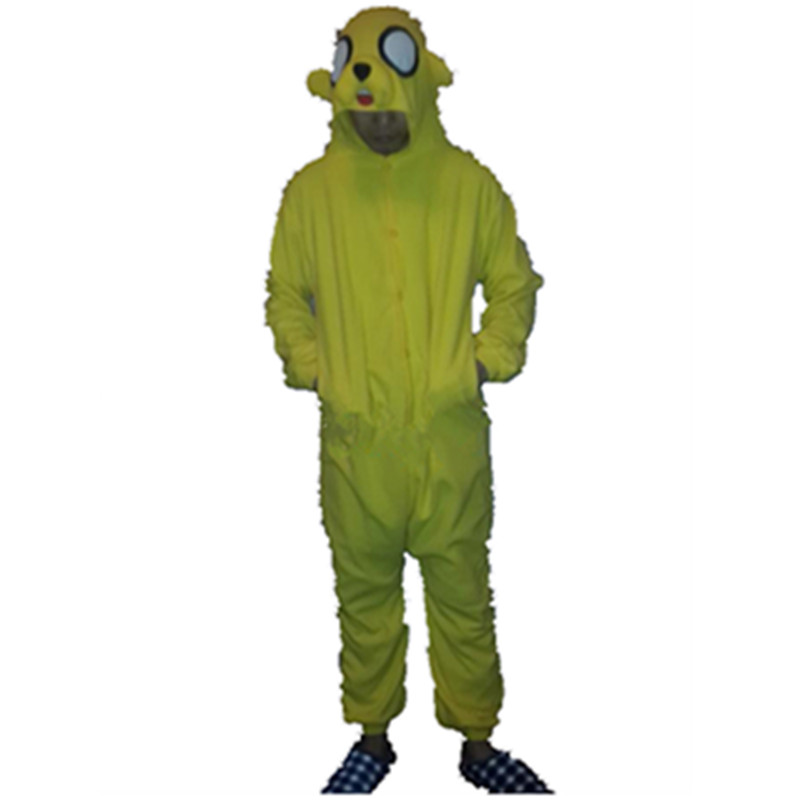 Jake the Dog Adventure go Onesies / costume Yellow dog Jake tuta - Costumi di carnevale