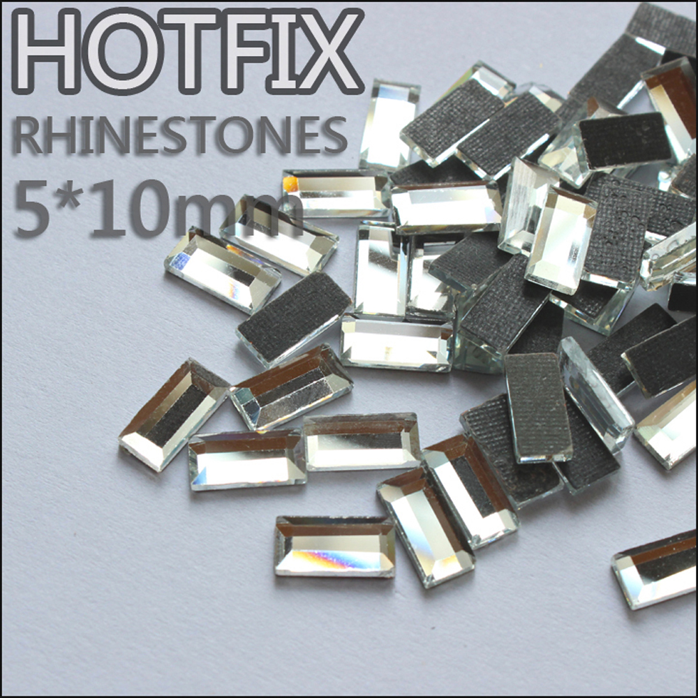 833a9647890ff ツ)_/¯Promotion Strass verre beads130pcs 5x10mm rectangulaire ...