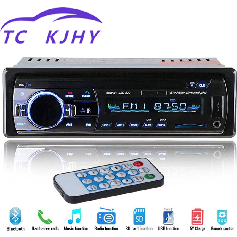 Auto Car MP3 Player OLED Color Screen Vehicle Mounted Bluetooth MP3 Player Car Card Machine Radio for Car CD Player DVD Display