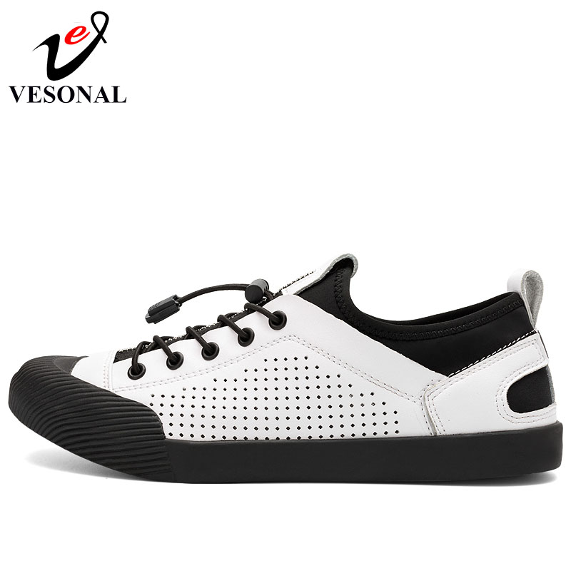 white gun Cuir Mode Color Shoes Chaussures Printemps En Vesonal Respirant Adulte Évider Pour Hommes Véritable Casual Sneakers Homme Shoes Automne De Marche Shoes Black RH8wUq8B