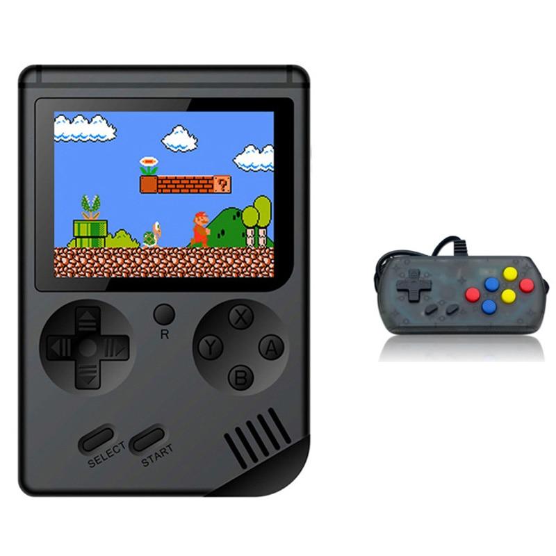 Retro Handheld Classic Game Console F-C System Plus Extra Joystick Video Game Consoles Built-In 168 Classic Games