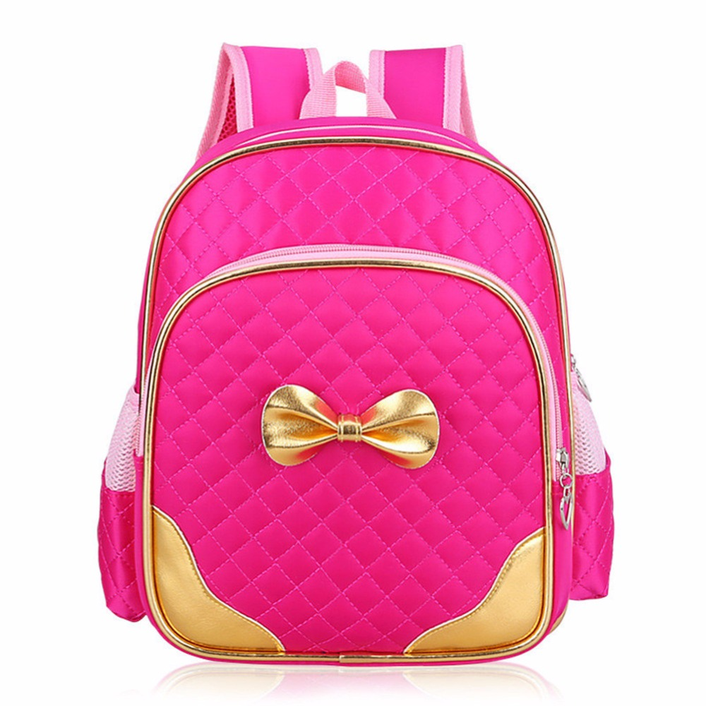 RUIPAI 2-7 Years Girls Kindergarten Schoolbag Princess Pink Cartoon  Backpack Baby Girls School bags Kids Satchel Baby Pack Cute d5763972e1