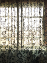 Fashion flowerEmbroidery curtain Custom made finished curtain window tulle curtain living room Window screening Home Decoration