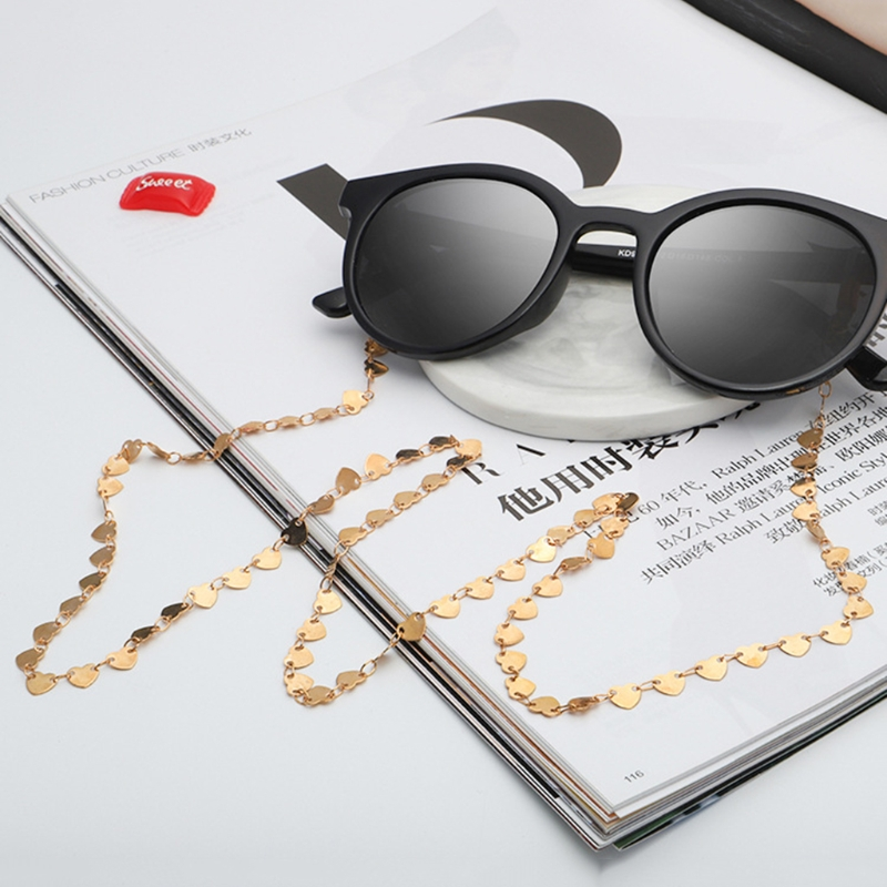 Free Delivery Reading Glasses Chain Fashion Sunglasses Holder Neck Strap Metal Laces Necklace