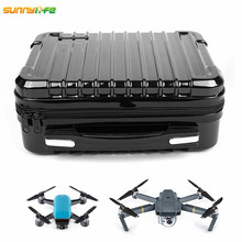 Sunylife DJI Spark DJI Mavic Pro Platinum Alpine White ABS Hardshell Box Portable Storage Bag with EVA Inner for Control Battery