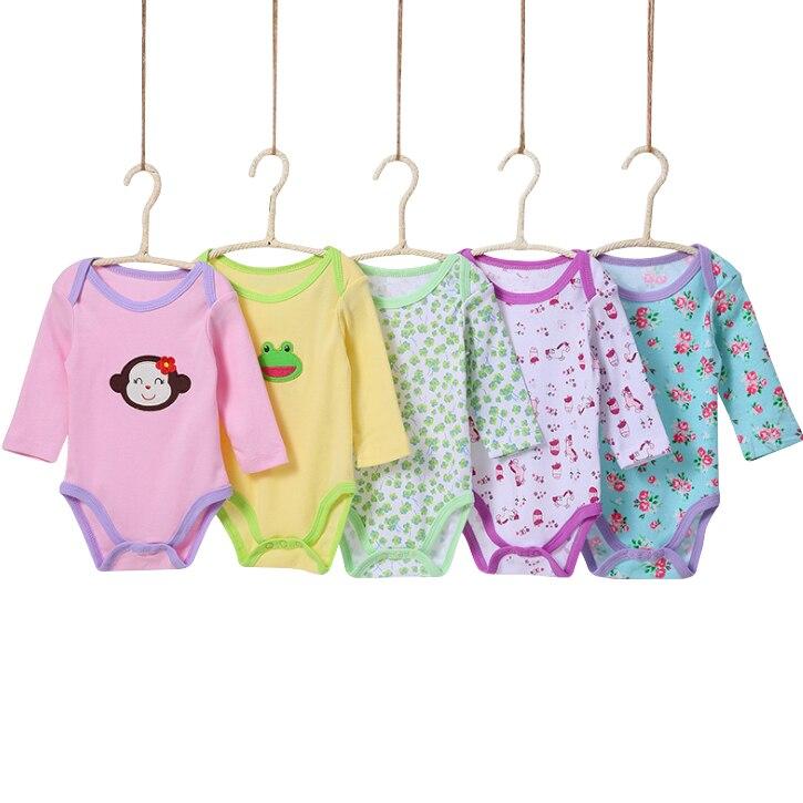 0-24 m Lindo Encantador 5 Unidades / Paquetes Baby boy Body Infantil - Ropa de bebé - foto 2