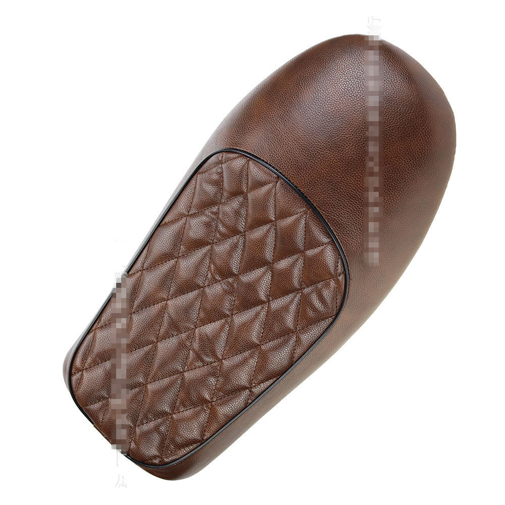 Brown Cafe Racer Vintage Saddle Hump Custom Seat Motorcycle Vintage Cafe Racer Seats For Honda CB350 CB450 CB750