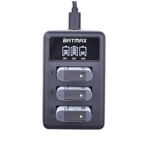 Image 5 - 5pcs NP BX1 np bx1 Battery + 3 Slots LCD Charger for Sony DSC RX100 DSC WX500 IV HX300 WX300 HDR AS15 X3000R MV1 AS30V HDR AS300