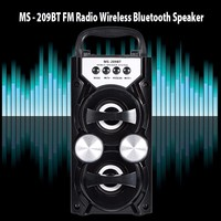 Original Redmaine MS 209BT Portable 10W Bluetooth Speaker 800mAh Wireless Bluetooth Speaker Soundbar Support FM Radio