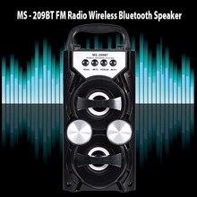 Оригинальный redmaine MS-209BT Портативный 10 Вт Bluetooth Динамик 800 мАч Беспроводной Bluetooth Динамик Саундбар Поддержка FM радио карты памяти
