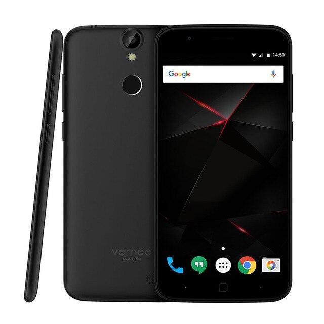 Original Vernee Thor MTK6753 1.3GHz Octa Core 5.0 Inch HD Screen Fingerprint ID 3G RAM+16G ROM Android 6.0 4G LTE Smartphone