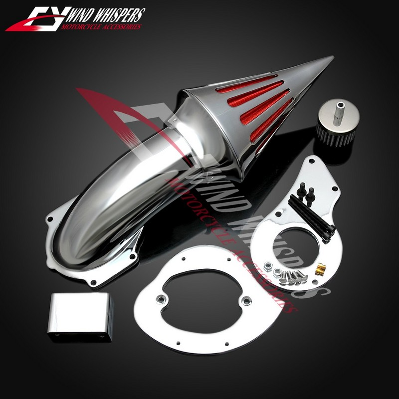 Motorcycle Modified air filter performance metal air filter assembly For Honda Steed 400 600 VLX 400