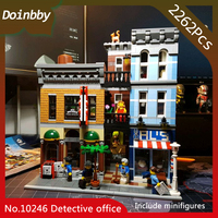 In Stock 15011 Detective office Street View Creator Series Building Blocks 2262Pcs Compatible With bela 10246