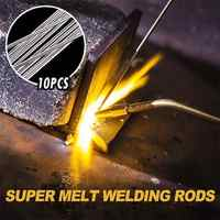 1.6mm 33cm Low Temperature Aluminium Welding Rod Electrodes Silver Super Easy Melt Welding Rods Steel Welding Soldering Supplies