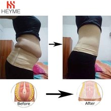 HEYME Women Body Tummy Control Shaper Weight Loss Belly Slimming Belt Seamless Waist Cincher Fat Burning Corset Slimming Product