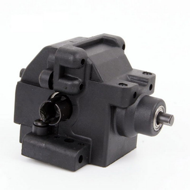 HSP 06064 Rear Gear Box Complete 1P RC 1:10 Scale Car Buggy Truck Original Parts hsp 02023 clutch bell double gears 1p rc 1 10 scale car buggy original parts