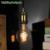 G80 Edison lâmpada do vintage macio LEVOU filamento espiral projeto DIY lâmpada sótão lâmpada pingente lâmpada lâmpada 110 V-220 V 4 W